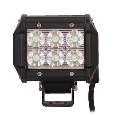 2db 4 inch 18W Cree LED munkalámpa autó motor teherautó SUV atv 4WD offroad vezetés árvíz LED lámpa fény bár 12v 24v
