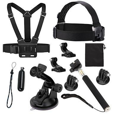 Screw Floating Buoy Suction Cup Straps Monopod Tripod Mount / Holder All in One Convenient For Action Camera Gopro 5 Gopro 4 Session