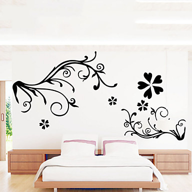 Yılbaşı / Çiçekler / Tatil / Manzara Duvar Etiketler Uçak Duvar Çıkartmaları , pvc 60x90x0.1cm