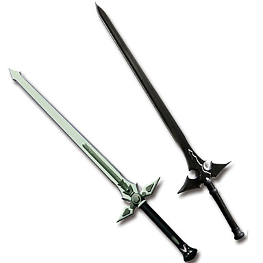 Weapon Sword Inspired by Sword Art Online Cosplay Anime Cosplay Accessories Sword More Accessories Weapon PVC ABS Men's New Hot