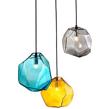 Geometrisk Anheng Lys Omgivelseslys - LED Pære ikke Inkludert / G9 / 20-30㎡