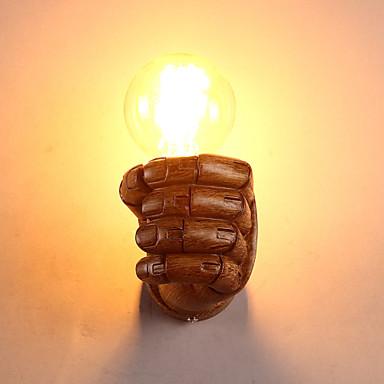 LED Lâmpadas de Parede,Rústico/Campestre Resina