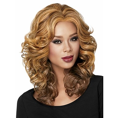 Ladys'  Blend  Short Synthetic Hair Wave Wig Extensions Enough Stock