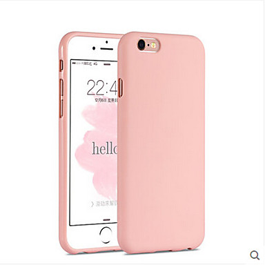 Case For Apple iPhone 6 iPhone 6 Plus Shockproof Back Cover Solid Color Soft Silicone for iPhone 6s Plus iPhone 6s iPhone 6 Plus iPhone 6