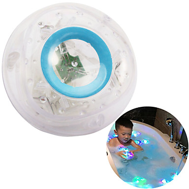 hesapli Oyuncaklar ve Oyunlar-LED Aydınlatma Banyo Oyuncakları Havuzlar ve Su Eğlenceleri Portatif Aydınlatma Dayanıklı Plastik Çocuklar için Unisex Genç Erkek Genç Kız Oyuncaklar Hediye