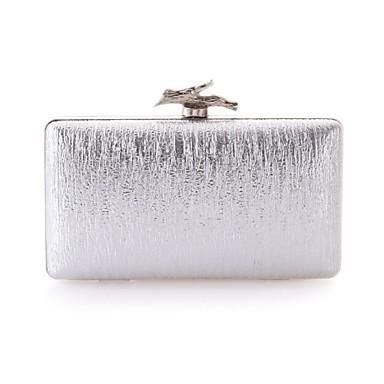 Női Táskák PU Estélyi táska mert Esküvő / Party / Előírásos Arany / Fekete / Ezüst
