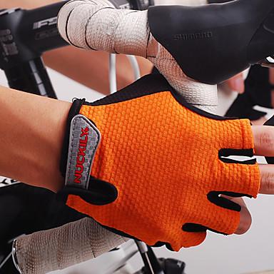 Nuckily Luvas Esportivas Luvas de Ciclismo Permeável á Humidade Vestível Respirável Anti-desgaste Capilaridade Resistente ao Choque Sem