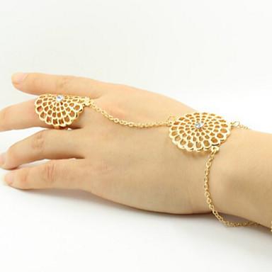 Gyűrűk Hétköznapi Ékszerek Ötvözet Női Midi gyűrűk 1db,7 Aranyozott / Ezüst