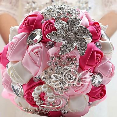Esküvői virágok Csokrok Esküvő Szatén 7,48