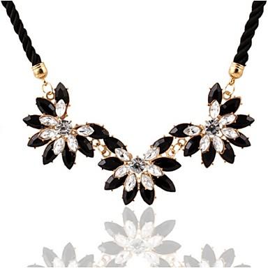 Kadın Gerdanlıklar Açıklama Kolye alaşım Altın Mücevher Için Düğün Parti Günlük 1pc