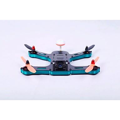 Drone Sekstant F230 6CH 3 Eksen 2.4G 720P HD Kameralı RC 4 Pervaneli Helikopter FPV / Kameralı Siyah