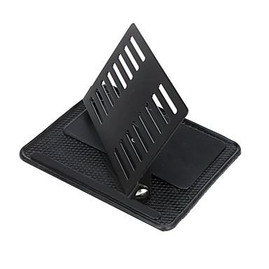 ziqiao montar titular portátil universal do GPS do carro do telefone móvel suporte de 360 graus tapete antiderrapante rotativo