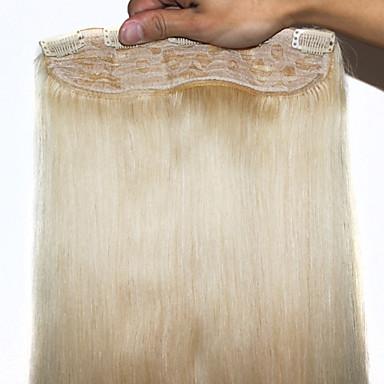 peräti loppua hiuksista leikkeen hiusten pidennykset # 613 100g / kpl suorat ihmisen hiusten pidennykset 20