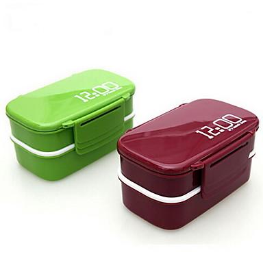 1pç Lancheiras Plástico Fácil Uso Organização de cozinha