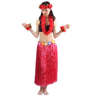 Burlesque/Palyaço Cosplay Kostümleri Parti Kostümleri Unisex Cadılar Bayramı Karnaval Festival / Tatil Cadılar Bayramı Kostümleri Yeşil