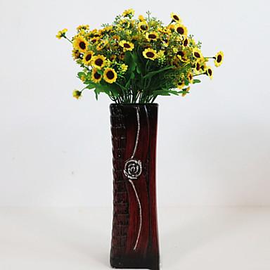 Kunstige blomster 1 Gren Pastorale Stilen Kurvplante Bordblomst
