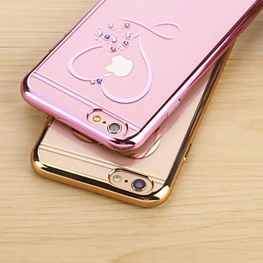 Capinha Para iPhone 6s Plus iPhone 6 Plus Apple iPhone 6 Plus Capa traseira Macia TPU para iPhone 6s Plus iPhone 6 Plus