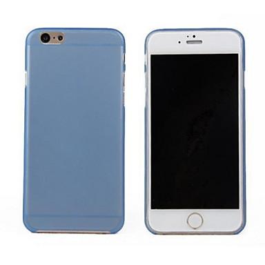 Maska Pentru iPhone 6 iPhone 6 Plus Ultra subțire Transparent Carcasă Spate Culoare solidă Greu PC pentru iPhone 6s Plus iPhone 6 Plus