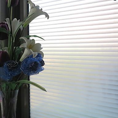 Ριγέ Klasika Μεμβράνη παραθύρου, PVC/Vinyl Υλικό παράθυρο Διακόσμηση Τραπεζαρία Υπνοδωμάτιο Γραφείο Σαλόνι Κουζίνα