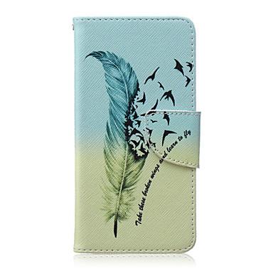 Case Kompatibilitás LG LG Nexus 5X LG tok Kártyatartó Pénztárca Állvánnyal Flip Héjtok Tollak Kemény PU bőr mert