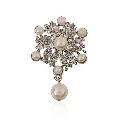 Žene Biseri Imitacija bisera Umjetno drago kamenje imitacija Diamond Legura Moda Jewelry Vjenčanje Party
