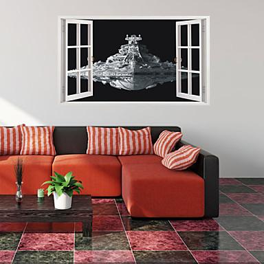 Maisema / Fantasia / 3D Wall Tarrat 3D-seinätarrat,VINYL 60*100CM