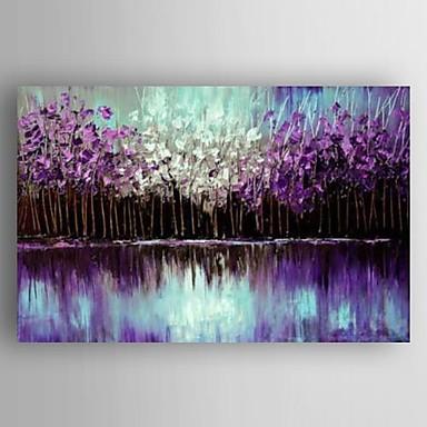 Kézzel festett Landscape Modern Vászon Hang festett olajfestmény lakberendezési Egy elem