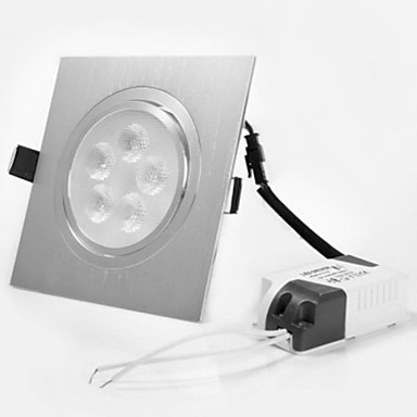 LED Recessed Lights 5 High Power LED 450 lm Warm White 3000 K Decorative AC 220-240 AC 110-130 V