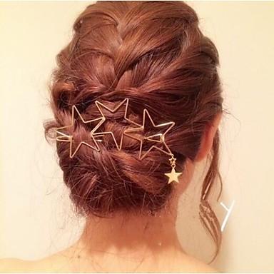 voordelige Dames Sieraden-Dames Modieus Sterstijl Ster Legering Haarstokjes Haar charmes Bruiloft Feest