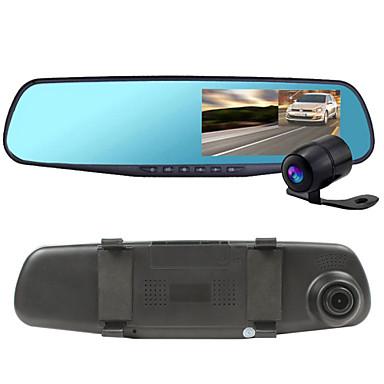 Full HD 1920 x 1080 G-Sensor / Video Out / Anti-Choque DVR de carro 120 Graus / 140 Graus / 170 Graus Ângulo amplo 5.0 MP CMOS 4.3 polegada Dash Cam com Gravador de carro