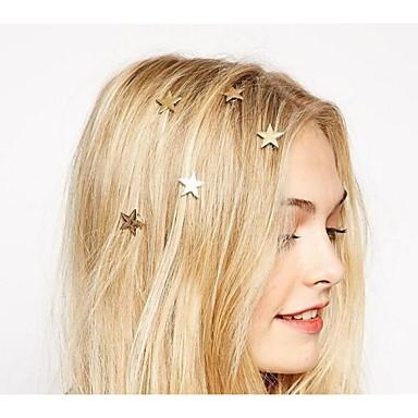 baratos Bijuteria de Mulher-Mulheres Elegante Liga Hairpin Spiral Encantos do cabelo-Flor