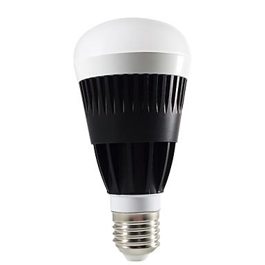 스마트 폰 응용 프로그램 제어 무선 랜은 RGB 따뜻한 흰색 전구를 주도