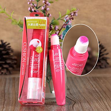 Batons Molhado Bálsamo Gloss Colorido Humidade Natural Respirável Iluminação