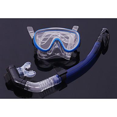 Pacotes de Mergulho Máscara de Mergulho Kit para Snorkel Snorkel Seco Mergulho e Snorkeling Silicone