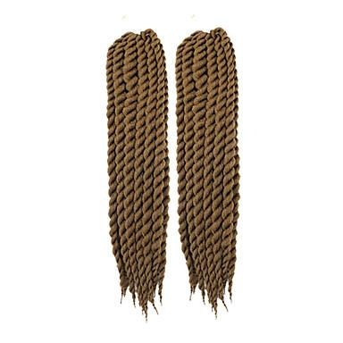 bogár Havanna Twist Zsinór Póthajak 22inch Kanekalon 2 Part 120g/pcs gramm Hair Zsinór
