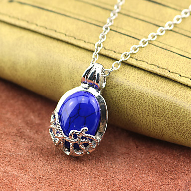 Vampire More Accessories Movie Cosplay Blue Necklace More Accessories Halloween New Year Alloy