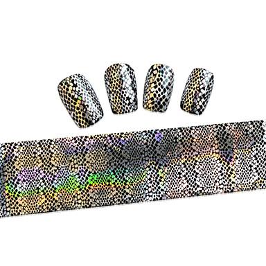 1 pcs Fita de folha de prego arte de unha Manicure e pedicure Adorável Desenho / Fashion Diário / Fita de decapagem