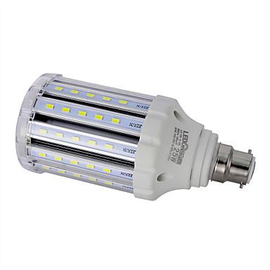 24W B22 LED 콘 조명 T 78PCS SMD 5730 100LM/W lm 따뜻한 화이트 / 내추럴 화이트 장식 AC 85-265 V 1개