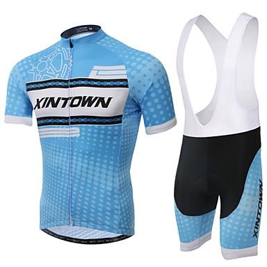 XINTOWN Askılı Şortlu Bisiklet Forması Unisex Kısa Kollu Bisiklet Bisiklet Şortu kol Isıtıcıları Forma Giysi Setleri Hızlı Kuruma