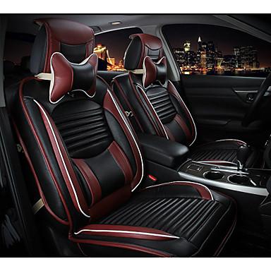 voordelige Auto-interieur accessoires-ODEER Auto-stoelhoezen Stoel hoezen Zwart / Rood / Crème- / Oranje tekstiili Zakelijk Voor Volvo / Volkswagen / Toyota 2005 / 2006 / 2007