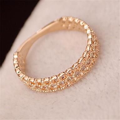 Prstenje Moda Party Jewelry Žene Klasično prstenje 1pc,Univerzalna veličina Zlatna