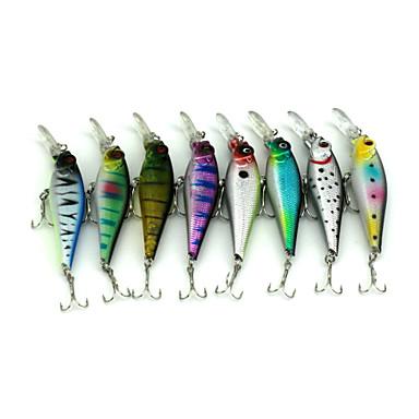 8 Stück Angelköder kleiner Fisch g / 7/16 Unze / pc, 100 mm / 4