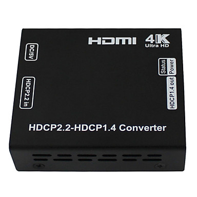 HDMI Converter for HDCP Converter HDCP 2.2 to HDCP 1.4 Convert Vision for HDMI 4K Resolution ...