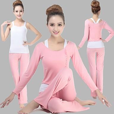 Yoga Kompleti odjeće Prozračnost Puhaság Rastezljiva Sportska odjeća Žene Yoga Pilates