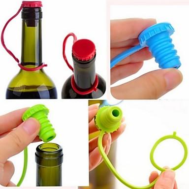 Utensílios de Bar e Vinho Silicone,Vinho Acessórios