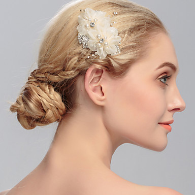Women's Rhinestone Headpiece-Wedding Special Occasion Casual Office & Career Outdoor Hair Combs 1 Piece
