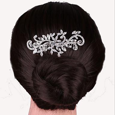 מסגסוגת שיער מסרקים שיער כלי headpiece בסגנון נשי קלאסי