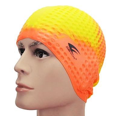 Schwimmkappen Silikon Wasserdicht, Komfortabel Schwimmen / Tauchen für Erwachsene