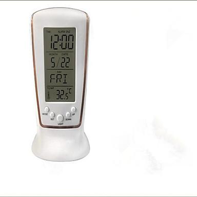 johtaneet sähköinen valoisa hälytys mykkä hälytys kalenteri lämpömittari laiska