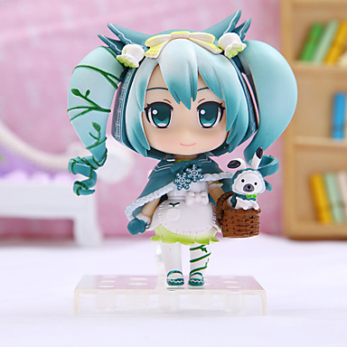 Anime Action Figures Inspired by Vocaloid Hatsune Miku PVC 16cm CM Model Toys Doll Toy